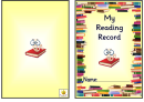 My Reading Record Template - Yellow