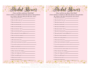 Bridal Shower Game - How Well Do You Know The Bride