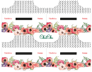 Envelope Template - Flowers