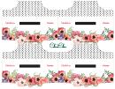 Envelope Template - Flowers