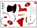 Snowman Making Template