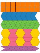 Jewel Toned 2 Pattern Block Templates