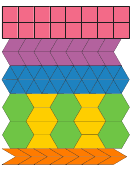 Jewel Toned Thin Lines Pattern Block Templates