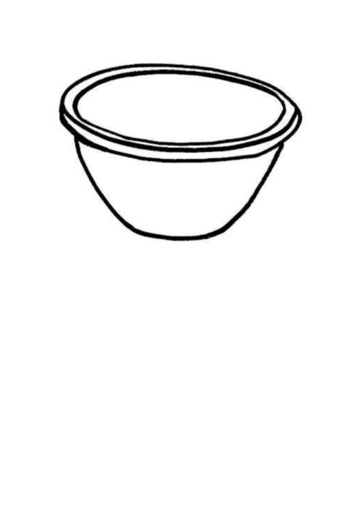 Ice Cream Bowl Template Printable Pdf Download