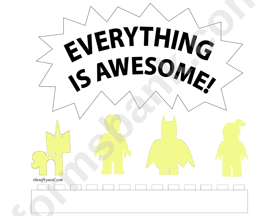 Pumpkin Carving Template Everything Is Awesome