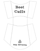 Boot Cuffs Template