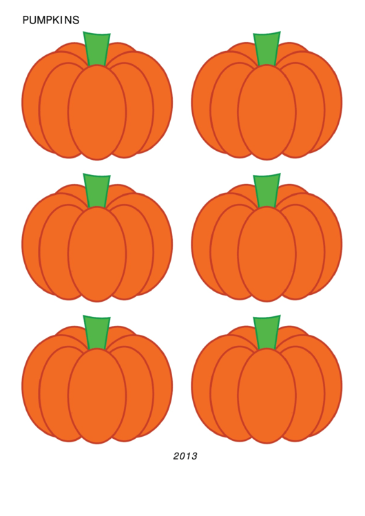 Pumpkin Cut Out Template printable pdf download
