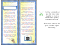 Bookmark Template - Yellow Background