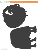 Shadow Puppets: Muskox