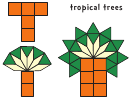 T - Tropical Trees (color)