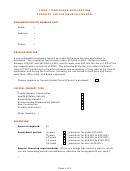 Loan Mortgage Application Form