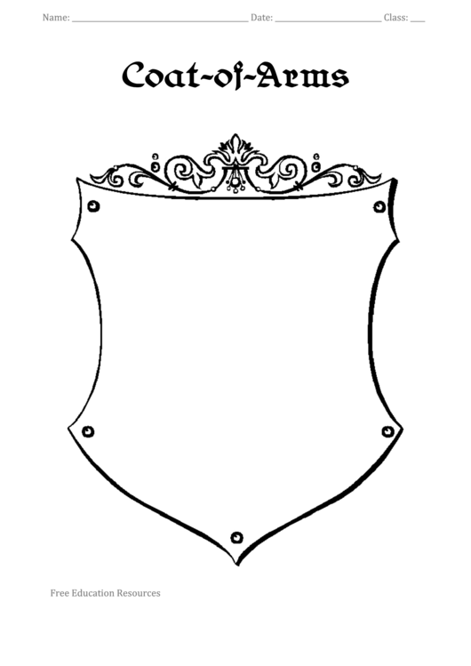 Coat-of-arms Template