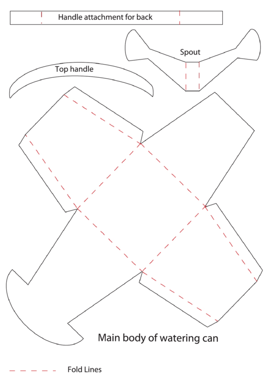 watering can template printable pdf download