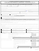 Consolidated Emergency Response / Contingency Plan Template