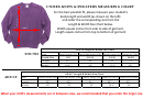 Smooth Sportswear Unisex Knits & Sweaters Measuring Chart