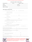 Purchase Order Change Form