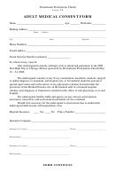 Adult Medical Consent Form