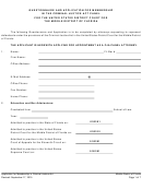 Questionnaire And Application For Membership