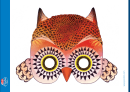 Owl Mask Template