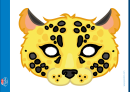 Leopard Mask Template