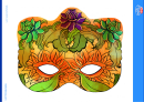 Magical Forest Mask Template