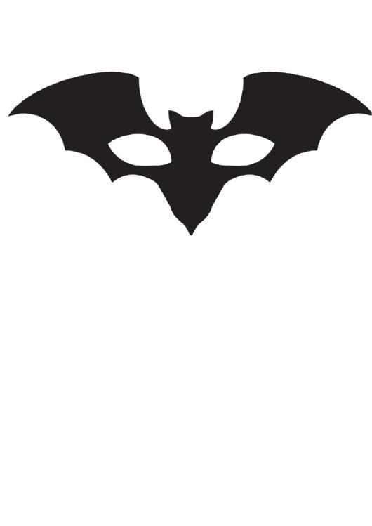 Batman Mask Template