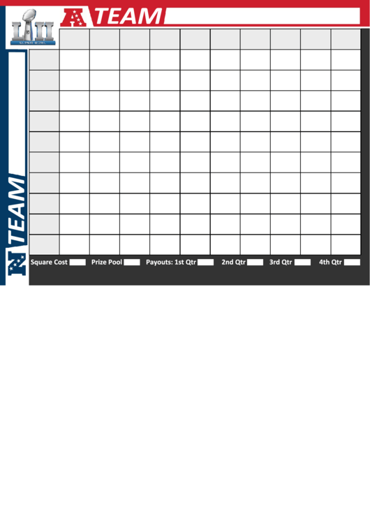 super bowl squares printable pdf download