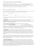 Rental Agreement Application Form