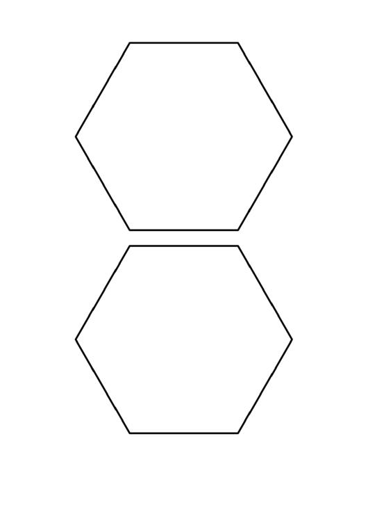5 inch hexagon pattern printable pdf download