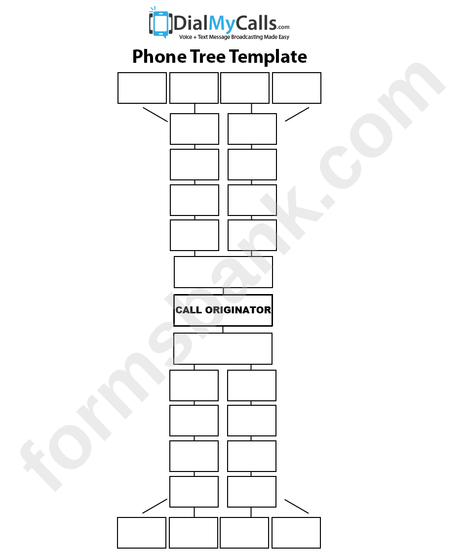 Basic Phone Tree Template