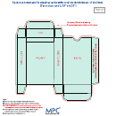 Card Box Template - 23.5mm Thickness