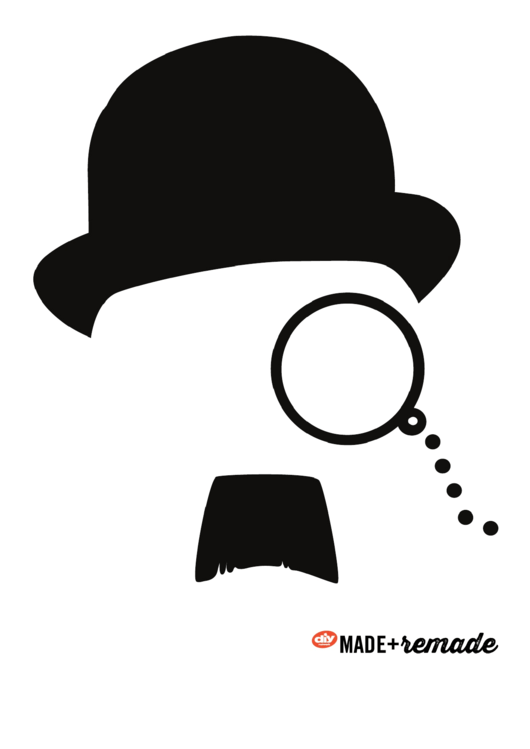 Mustache And Hat Templates