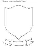 Design Your Own Coat Of Arms Template
