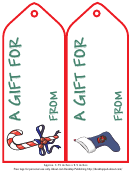 Christmas Gift Tag Templates