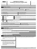 Form 8952 - Application For Voluntary Classification Settlement Program