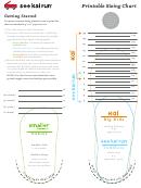 See Kai Run Shoe Sizing Chart