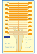 Tsukihoshi Shoe Size Chart