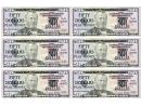 Fifty Dollar Bill Play Money Template