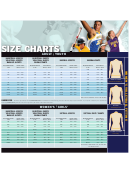 Burghardt Sporting Goods Jerseys And Pants Size Chart