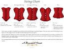 A Beautiful Corset Lingerie Size Chart