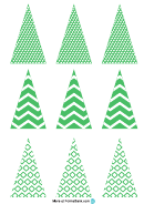 Christmas Tree Templates