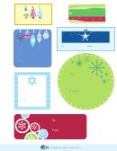 Christmas Gift Label Templates