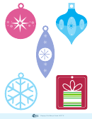 Christmas Tree Decoration Templates