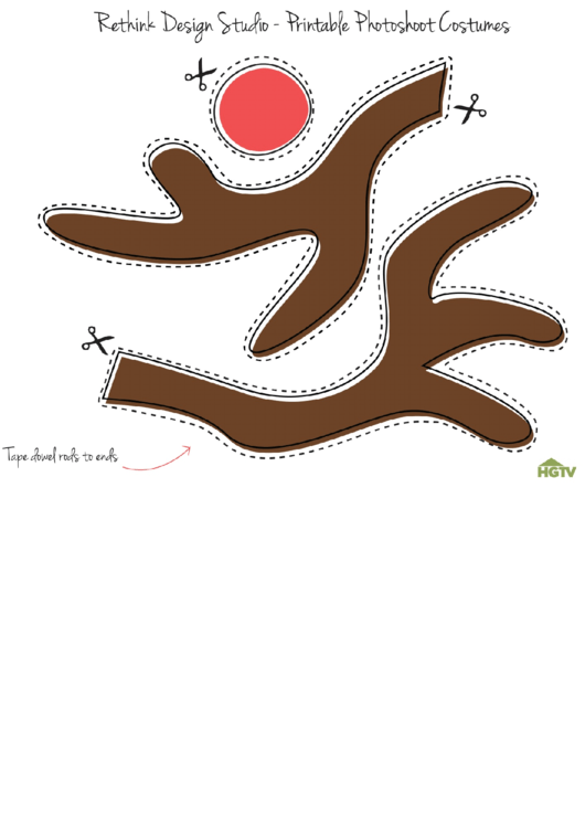 20 Reindeer Templates free to download