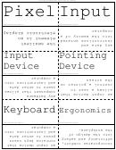 Word Flash Card Template