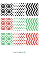 Christmas Ornament Pattern Templates