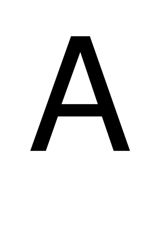 alphabet banner template