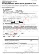 Nps Form 10-900 - National Register Of Historic Places Registration Form
