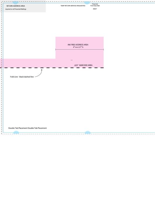 11 X 17 Half Then Half Fold Brochure Template