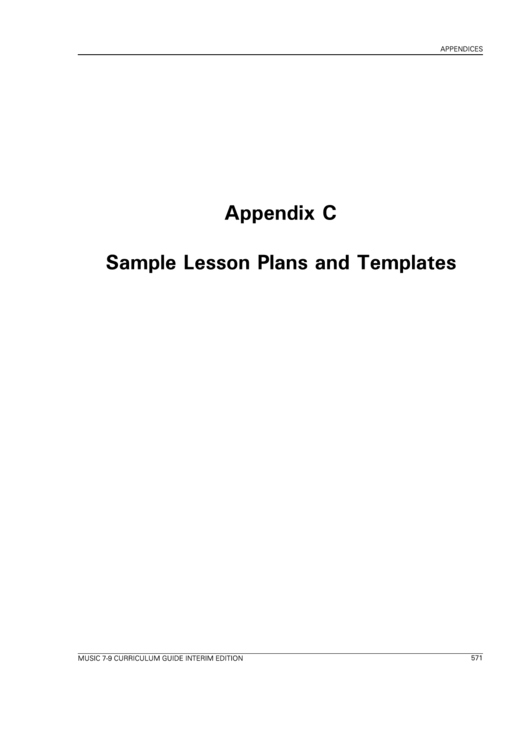 Sample lesson plans and templates printable pdf download for Ktip lesson plan template
